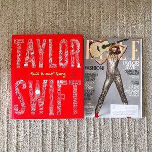 Taylor Swift This Is Our Song ELLE Magazine Book